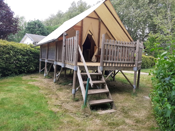 Camping Verte Rive Cromary - lodge Canadienne