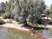 Camping Verte Rive Cromary - campsite next to the river L'Ognon