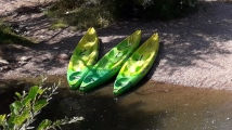 Camping Verte Rive Cromary - kayak en canoe on the river L'Ognon